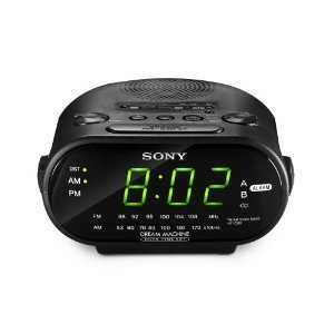 sony icfc318 travel clock radio with dual alarm 220 to 240volt kitchen home. Black Bedroom Furniture Sets. Home Design Ideas