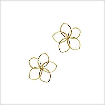 [バイボー]by boe /flower earring gold 京东方/花[]