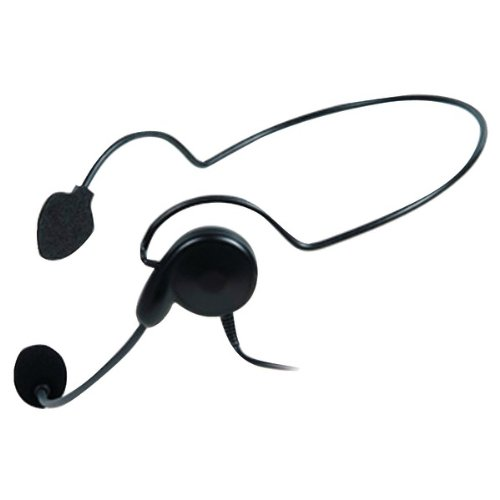 MIDLAND AVPH5 Behind-the-Head Headset with Microphone