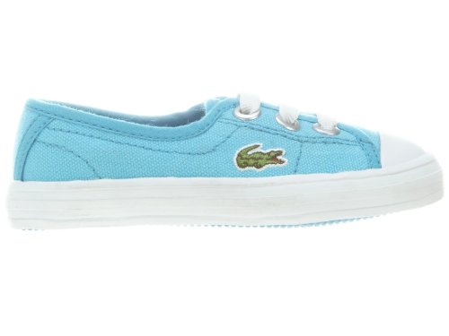Lacoste Ziane Sneaker (Infant/Toddler/Little Kid/Big Kid),Blue/White,7 M Us Toddler front-1054244