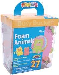 Darice Foam Kit Makes 27 Animals 106-752J; 3 Items/Order