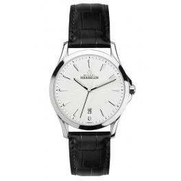 Michel Herbelin Classic Men's Watch black/silver 12213/12