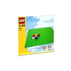 "LEGO® Base 32 x 32 Stud Building Plate 10"" x 10"" Platform - Green | 626"