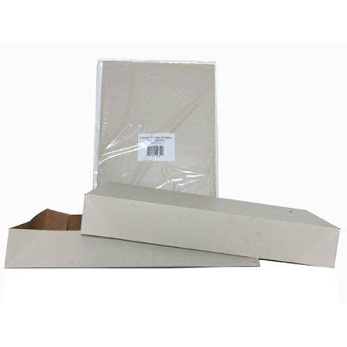 12x19x3 Full Lid Light Kraft Pinstripe Gift Box - Sold individually
