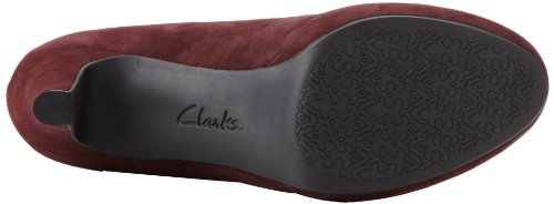 indigo by Clarks Women's Wessex Wyvern Pump,Burgundy,10 M US