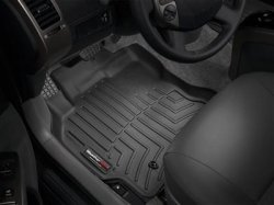 Black First Row Set MAXFLOORMAT Floor Mats for Chevrolet Impala 2014-2017