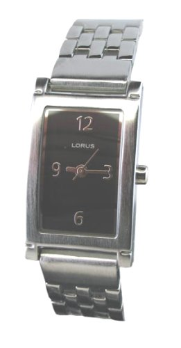 Womens Lorus Seiko Elegant Silver Dressy New Watch LR0764
