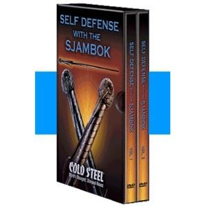 Cold Steel Training DVD Self Defense with a Sjambok Md: VDFSK