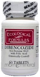 Dibencozide B12 1000 mcg 60 Tablets by Ecological Formulas