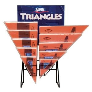 DISPLAY-FLUORESCENT TRIANGLES Displays
