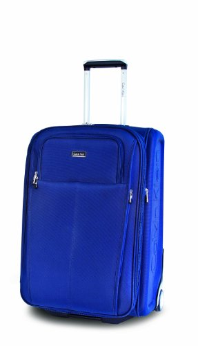 Calvin Klein Luggage Amagansett Upright, Midnight, 25 inch special discount
