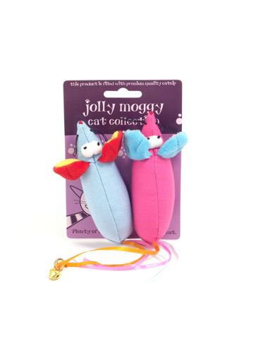 (Jolly Moggy) Cat Collection Canvas Bright Mice