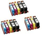 Compatible HP 364 XL Printer Ink Cartridge for HP Photosmart B8550, B8553, B8558, C6380, C6383, C5324, C5383, C5380, C6324, C5390, C5393, C5388, C5370, C5373, D5468, D5463, D5460, D7560, 5510, 5511, 5512, 5514, 5515, 5520, 5522, 5524, 6510, 6512, 6515, 6