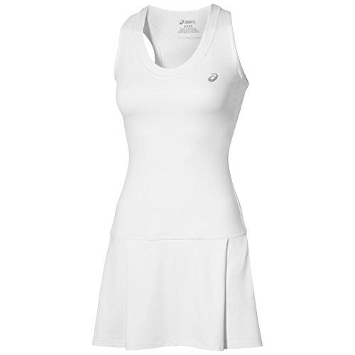 Asics Abbigliamento donna Club Dress, Unisex, Oberbekleidung Club Dress, bianco