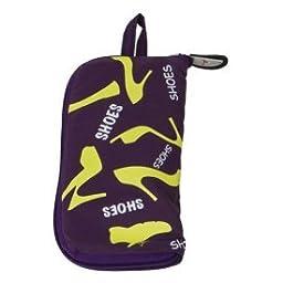Travelon Pocket Packs Shoe Bag (Eggplant)