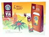 Starbucks Coffee Via Ready Brew Instant Colombian Coffee 24 Sachets Medium