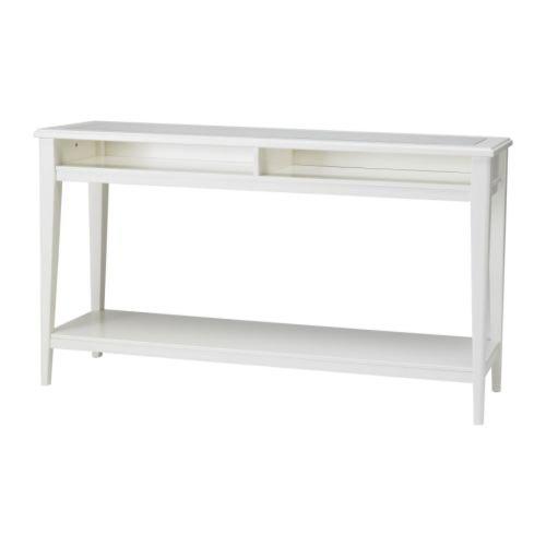 IKEA-LIATORP-Konsolentisch-Glas-wei-133x37-cm