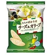 栗山米菓 大人のばかうけチーズ&オリーブ
