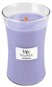 Woodwick Candle, Large, Lavender Spa