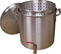 Big Sale King Kooker KK160V Aluminum Boiling Pot, 160-Quart