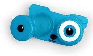 Dog Puppy Face Contact Lens Case - Blue