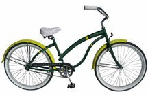 Oregon Ducks Womens Cruiser Bike