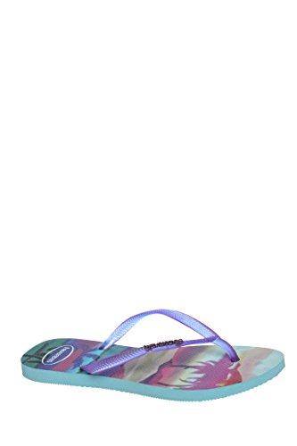Slim Paisage Casual Flip Flop