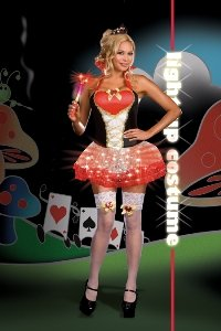 Queen of Heartbreakers Costume - Plus Size 1X/2X - Dress Size 16-18