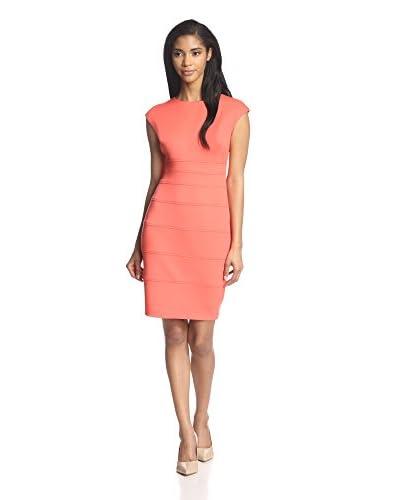 Sandra Darren Women's Seamed Sheath Dress