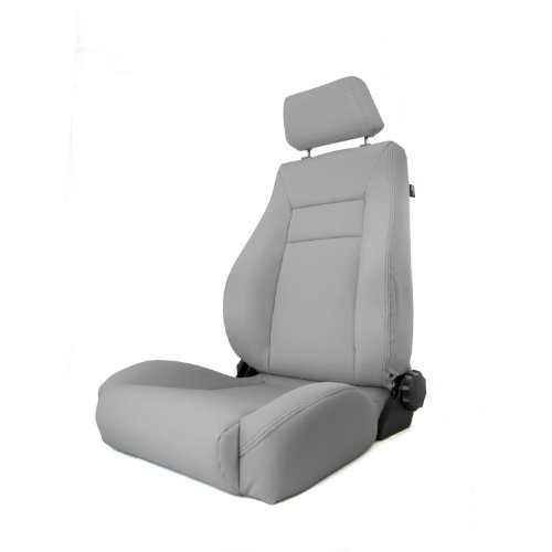Rugged Ridge 13446.09 Ultra Gray XHD Front Seat with Recliner (Recliner Replacement Parts Bolt compare prices)
