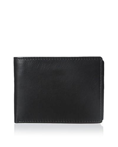 Steve Madden Men's Glove Passcase Wallet, Black, One Size