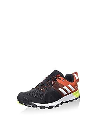 adidas Zapatillas Deportivas Kanadia 8 Tr M (Negro / Naranja / Amarillo)