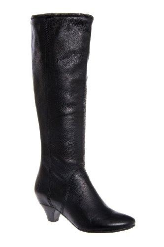 Frye Steffi Zip Tall Low Heel Almond Toe Boot