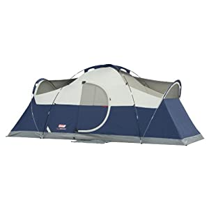 Coleman Elite Montana 8 Tent ...  sc 1 st  Big Agnes Angel Springs : tents with hinged doors - memphite.com