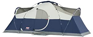 Coleman Elite Montana 8 Person Tent with Hinged Door by Coleman