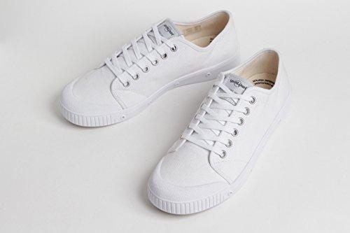 Spring court スプリングコート メンズ ( G2N-1 Classic クラシック MIDNIGHT ネイビー / WHITE ホワイト ) キャンバススニーカー 靴 (41(26.0cm~26.5cm), WHT (ホワイト))