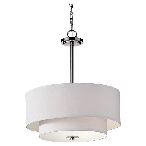 Inspirational Murray Feiss F Malibu Light Single Tier Chandelier Polished Nickel