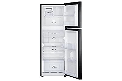 Samsung RT27JARMABX Frost-free Double-door Refrigerator (253 Ltrs, 3 Star Rating, Orcherry Pearl Black)