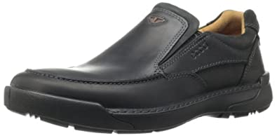 ECCO Men's Dason Toe Slip-On,Black,44 EU/10-10.5 M US