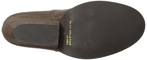 Very Volatile Women's Azza Boot, Brown, 8.5 B US