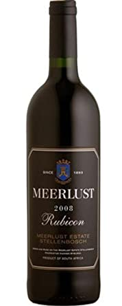 Meerlust Rubicon Red Wine 2008 75cl