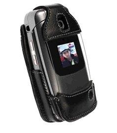 Housse Elastic pour LG VX-5400 Noir/Gris
