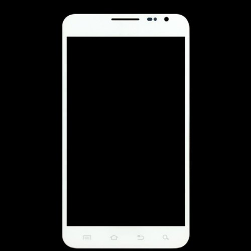 Epartsolution-Samsung Galaxy Note I717 Front Glass Outer Lens Touch Screen Cover White Replacement Part Usa Seller front-546180