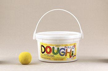 Dazzlin Dough Yellow 3 Lb Tub -- Case of 3