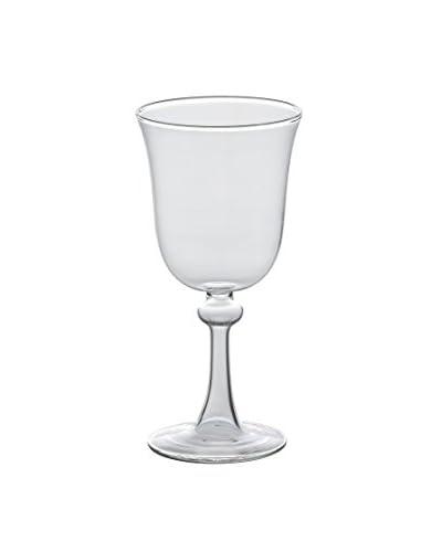 Bitossi Home Set 6 Vasos De Agua Transparente