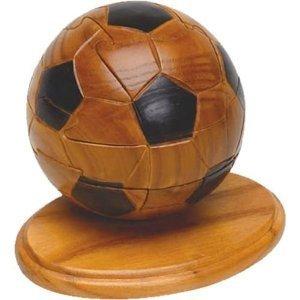 3D Football Wooden Jigsaw Puzzle