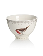 Winter Robin Cereal Bowl