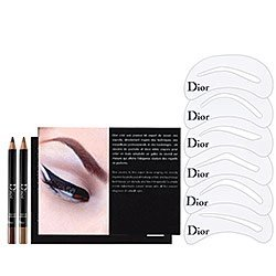 Christian Dior Backstage Brow Design Brow Shaping Stencils Kit