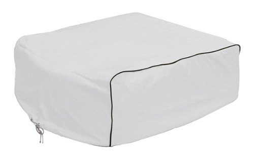Classic Accessories 77410 Snow White RV AC Cover, Fits Coleman Mach I, II & III, Mach 3 Plus, Mach 15, Roughneck & TSR