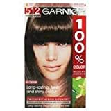 Garnier 100% Color Permanent Creme Colourant 512 Frosted Brown pack